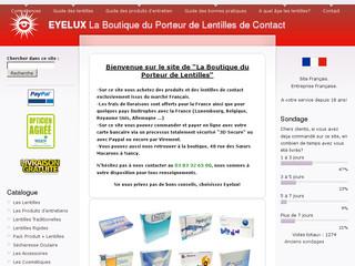 lentilles de contact pour myopes