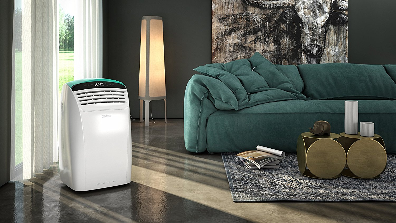 climatiseur mobile au salon