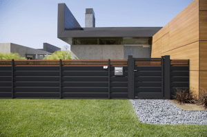 clotures et portails et jardin