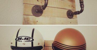 Support de casque moto